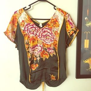 Anthropologie Shirt ( lovely fall colors ).